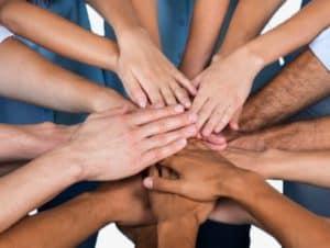 unity hands gesture