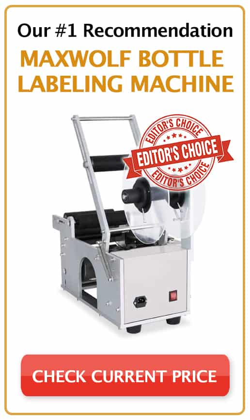 Maxwolf Bottle Labeling Machine Editors Choice