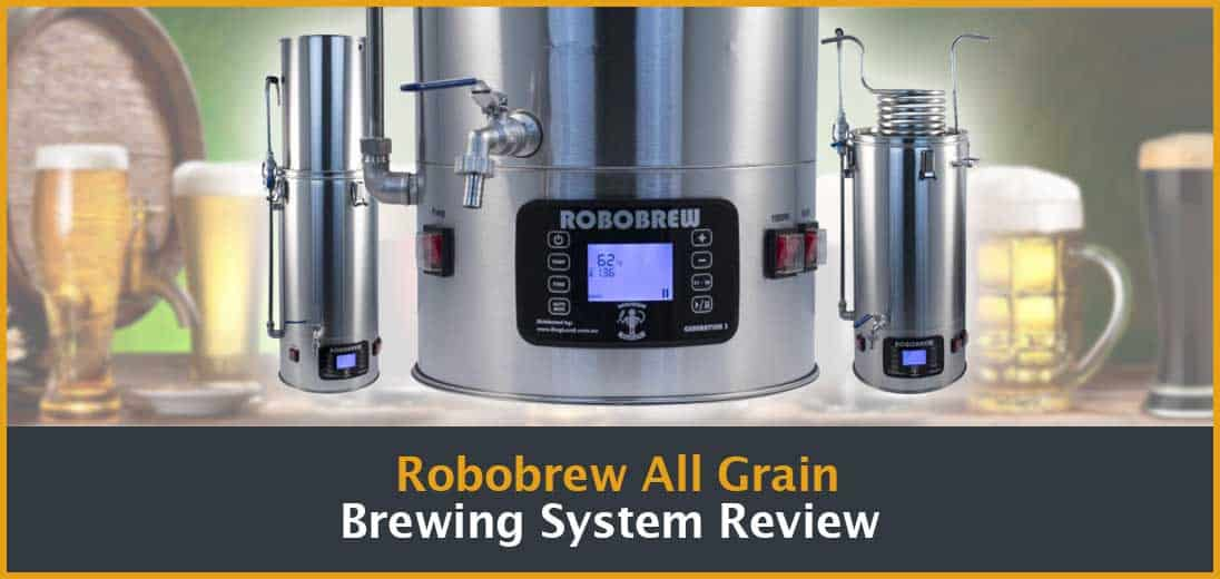 Robobrew All Grain Brewing System Review Cover Image