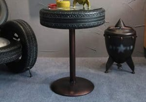 Tire Corner Table