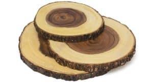 Wood Slab Serving Board