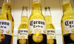 Corona Extra Mexican beer