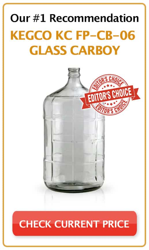 Kegco KC FP-CB-06 Glass Carboy_sidebar Editors Choice