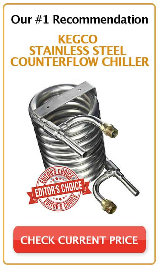 Kegco Stainless Steel Counterflow Chiller Product