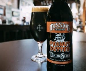 Mission Peanut Butter Beer Dark Seas