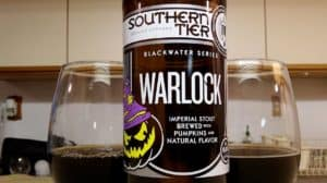 Southern Tier Warlock stout beer