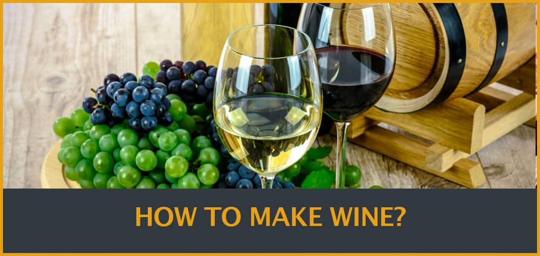 How to make wine at home from grapes
