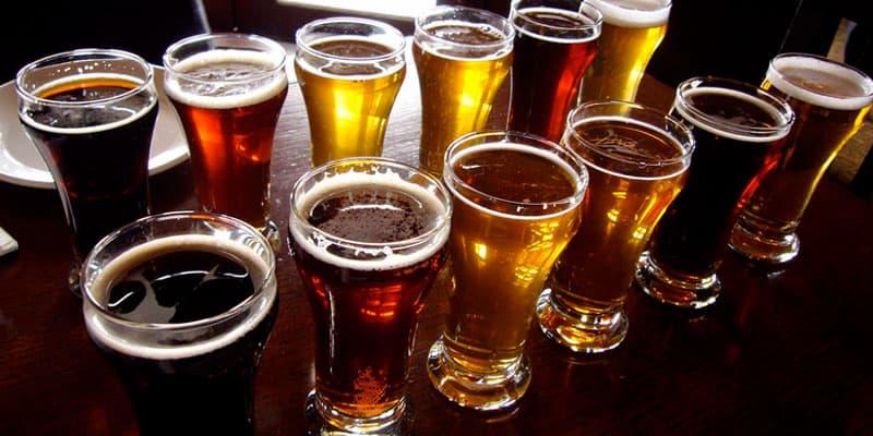variety of beer