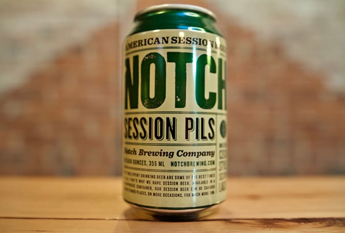 Notch Session Pilsner Beer