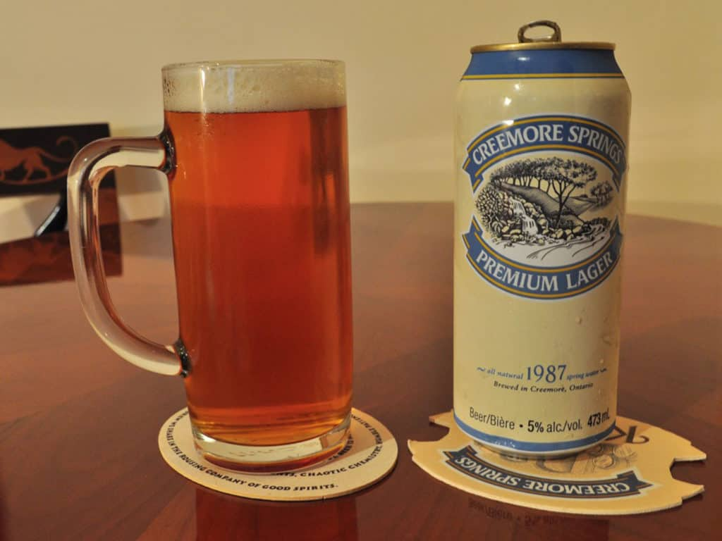 Creemore Springs lager beer