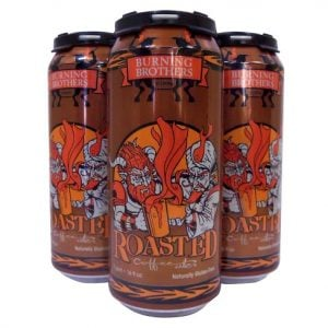 Roasted Coffee Strong Ale Burning Brothers Brewing