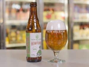 the hemperor new belgium marijuana hemp beer