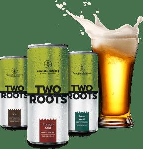two roots cbd ceria brewing marijuana hemp beer