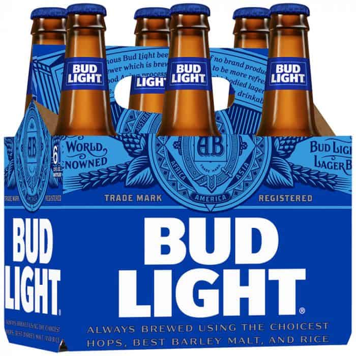 bud light low-calorie beer