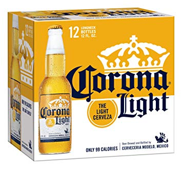 corona light low-calorie beer