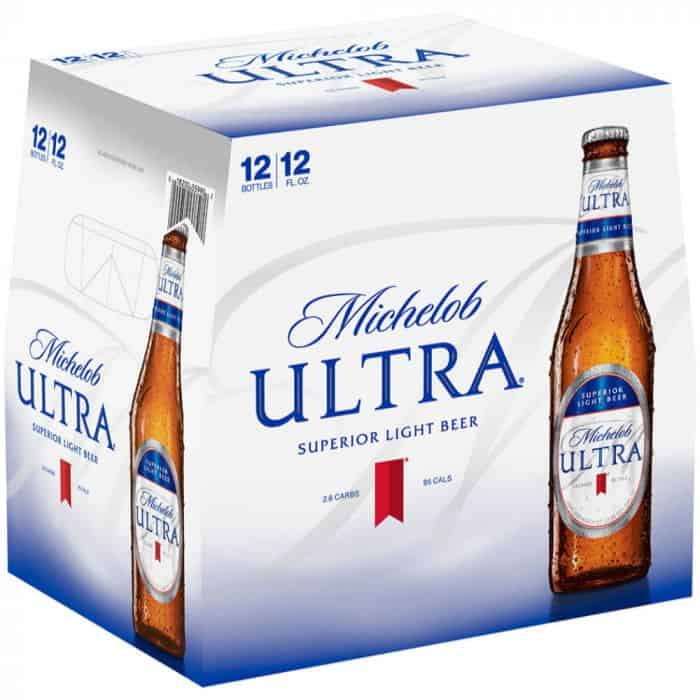 michelob ultra light low-calorie beer