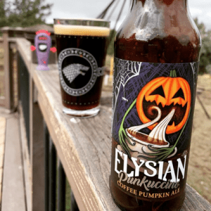 Elysian pumpkin beer