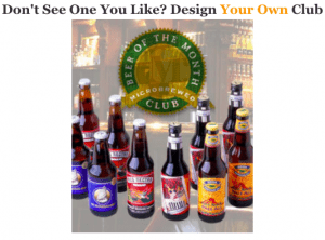 design your own beer month club