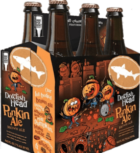dogfish head pumpkin ale beer