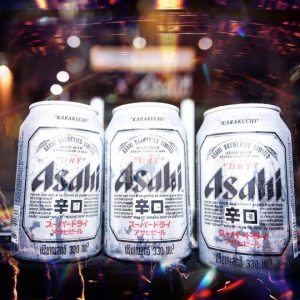 Asahi Super Dry Japanese Beer