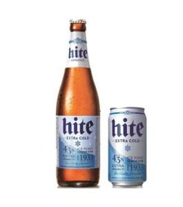 Hite Beer Korean Beer