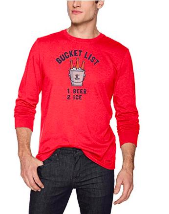 beer bucket list shirt